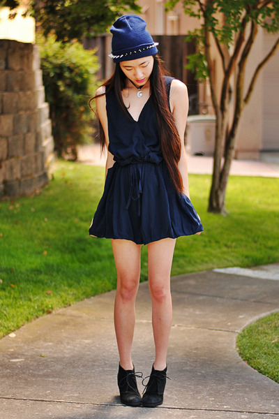 spiked headband OASAP accessories - chiffon AX Paris romper