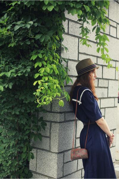 navy sailor vintage dress - tan mens bermuda Target hat