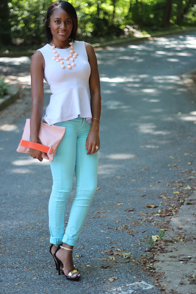 Periwinkle H&m Trend Top