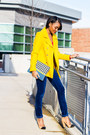Yellow-old-navy-coat-navy-gap-pants