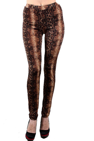 dark brown Urban Mix leggings