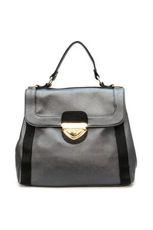 black satchel Candice bag