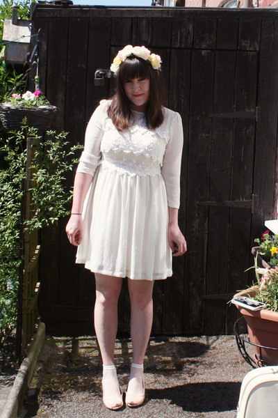 Topshop dress - handmade hat - Topshop heels