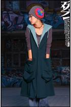 blue rip studio vest