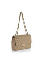 beige Chanel bag
