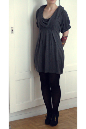 River Island dress - H&M shoes - H&M tights