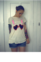 Wildfox shirt - Zara shorts