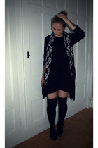Zara dress - Zara scarf - H&M socks - Palladium shoes