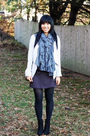 Zara scarf - Forever 21 dress