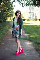 tropic H&M dress