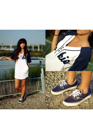 navy minimal 6ks dress