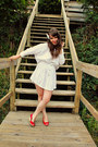 White-dee-ray-dress-red-moda-wedges-white-up-a-tree-cup-a-tea-accessories