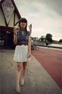 Blue-swap-via-the-daily-fashionista-dress-white-zara-skirt-beige-cooperative