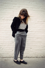 Black-h-m-coat-white-thrifted-top-black-aldo-shoes-black-urban-outfitters-