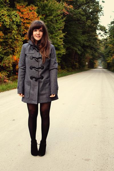 heather gray Element jacket - black Betsey Johnson tights