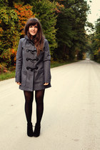 heather gray Element jacket - black Betsey Johnson tights