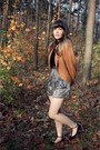 Black-modcloth-dress-orange-forever-21-cardigan-black-modcloth-shoes