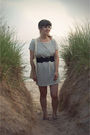 Gray-threadsence-dress-black-old-navy-shoes-black-urban-outfitters-belt-be