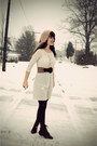 Cream-shop-ruche-dress-crimson-tj-maxx-tights-brown-shop-mamie-belt-dark-k