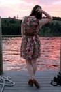 Brown-seychelles-wedges-bubble-gum-tulle-dress