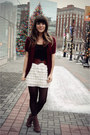 Crimson-modcloth-cardigan-black-urban-outfitters-top-black-forever-21-tights