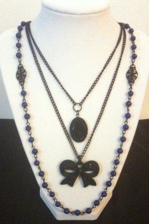 blue Rachels Handmade Accessories necklace