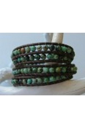leather beads iheartjenna bracelet