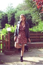 asos jacket - Zara shoes - H&M dress