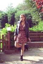 asos jacket - Zara shoes - H&M dress
