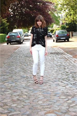 Zara blouse - H&M pants - H&M heels