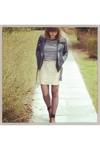 COS shirt - H&M boots - asos jacket - BLANCO skirt