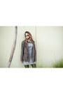 Black-aquapillar-boots-silver-gray-dress-marshalls-dress