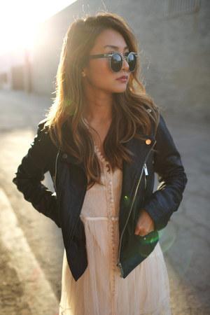 Bershka jacket - Forever 21 dress