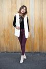 Eggshell-2020ave-boots-crimson-topshop-jeans-off-white-2020ave-vest