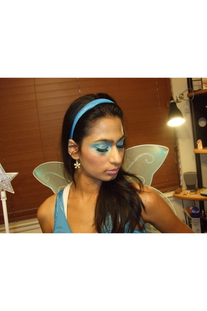 True Blue Fairy Makeup