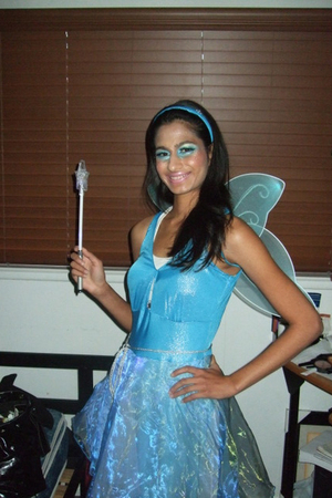 Halloween True Blue Fairy Costume