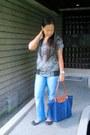 Blue-esprit-jeans-blue-longchamp-bag-black-charles-keith-flats