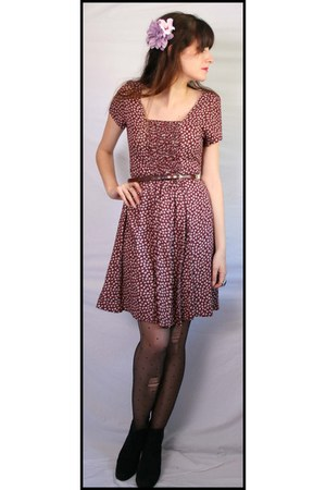 daisy print Aurora Vintage Boutique dress