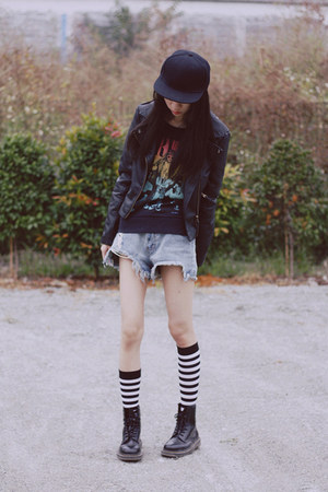 Dr Martens boots - jacket - H&amp;M sweater