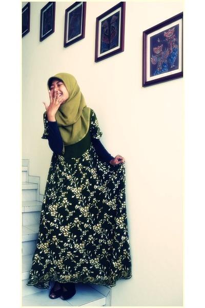 Batik Yogyakarta Dresses Ababil Brand Scarves Bes Bob Heels