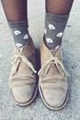 Light-brown-suede-boots-blue-denim-bcbg-jacket