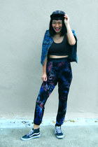 How to wear: Printed Harem Pants