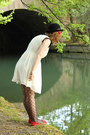 Dahlia-dress-bowler-h-m-hat-sheer-bow-new-look-tights-urban-outfitters-fla