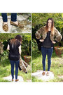 Skinny-jeans-zara-jeans-leopard-print-michael-kors-jacket-freeloader-t-shirt
