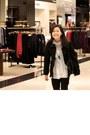 Gray-charlotte-russe-boots-blackhooded-forever21-jacket-basic-black-forever-