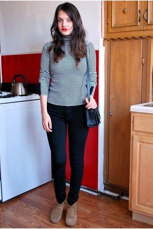 Steve Madden boots - Gap jeans - coach bag - unknown top