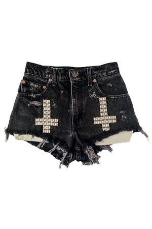 Omen eye shorts