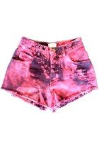 bubble gum Omen eye shorts