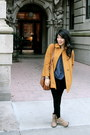 Dark-khaki-oxfords-suede-shoes-gold-mustard-yellow-zara-coat