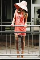 print Dolce Vita dress - print ted baker heels